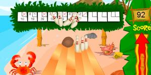 Hra - Beach Bowling