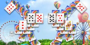 Hra - Balloon Cards Solitaire