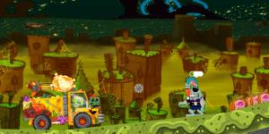 Hra - Spongebob Halloween Truck