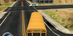 Hra - Park It 3D School Bus 2
