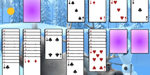 Hra - Olaf Solitaire
