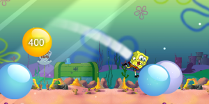 Hra - Spongebob Bubble Parkour