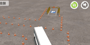 Hra - Bus Parking License 3D