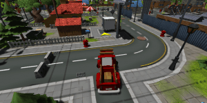 Hra - City Truck Parking