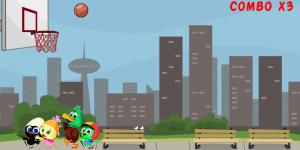 Hra - Calimero play Basketball
