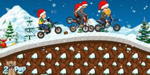 Hra - Snow Fall Race
