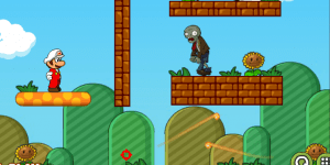 Hra - Mario Shoot Zombie