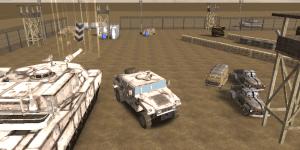 Hra - War Truck 3D Parking