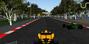Hra - Super Race F1