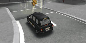 Hra - London Taxi 3D Parking