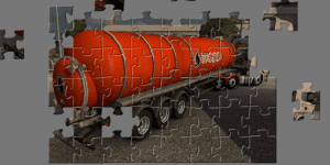 Hra - Tanker Truck Jigsaw