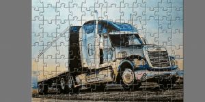 Hra - FreightLiner Truck Puzzle