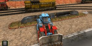 Hra - Train Station 3D Parking