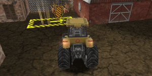 Hra - Tractor Mania 3D Parking