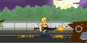 Hra - The Simpsons Town Defense