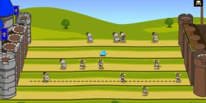 Hra - Knight Attack Castle Defense