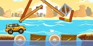 Hra - Build It Wooden Bridge
