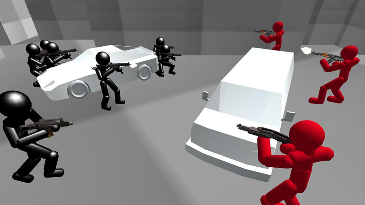 Hra - Counter Stickman Battle Simulator