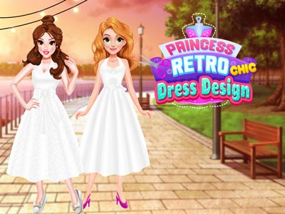 Hra - Princess Retro Chic Dress Design