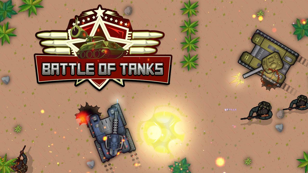 Hra - Battle of Tanks  2