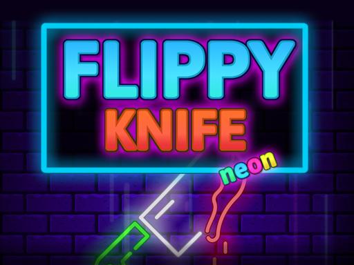 Hra - Flippy Knife Neon