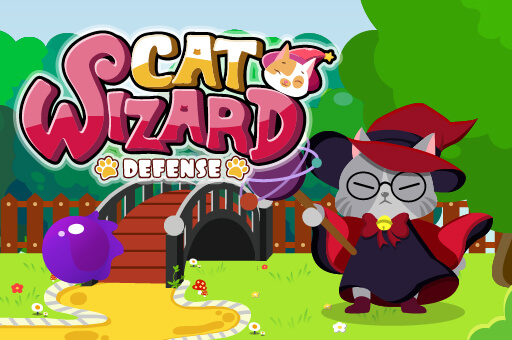 Hra - Cat Wizard Defence