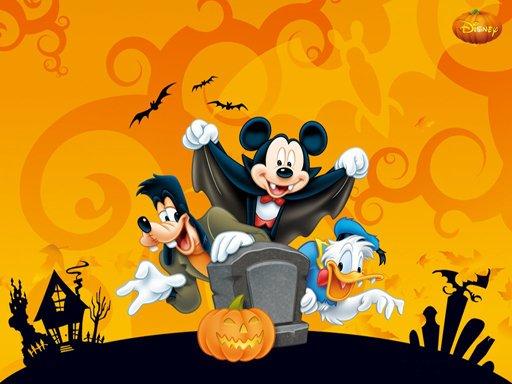 Hra - Disney Halloween Jigsaw Puzzle
