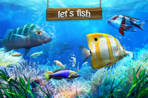 Hra - Let's Fish