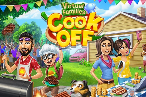 Hra - Virtual Families Cook Off