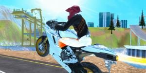 Hra - Fury Bike Rider