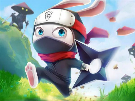 Hra - Ninja Rabbit