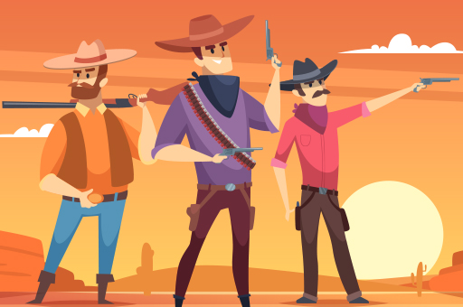 Hra - Wild West Shooting