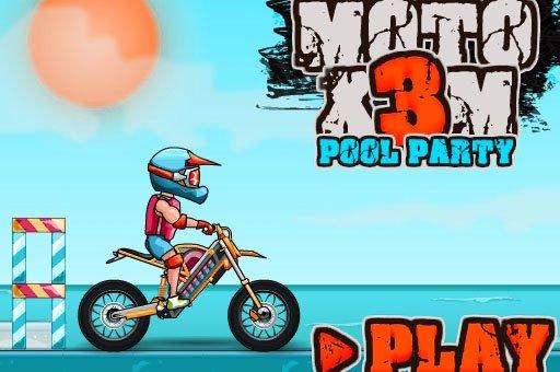 Hra - Moto X3M Pool Party