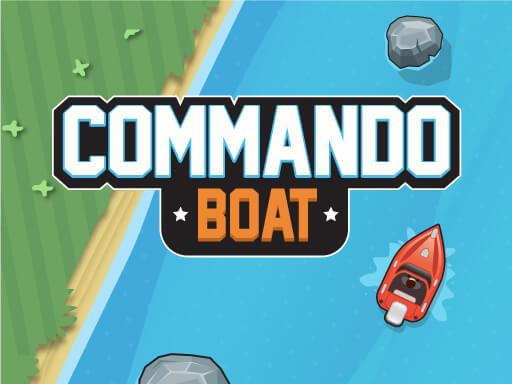 Hra - Commando Boat