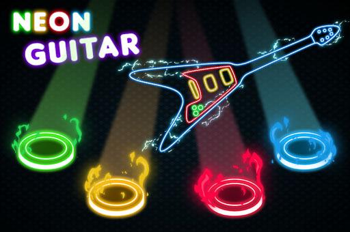 Hra - Neon Guitar