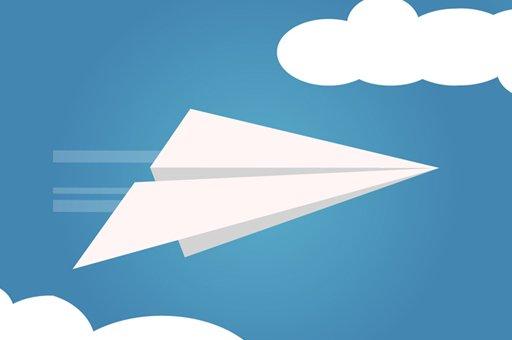 Hra - Paper Plane